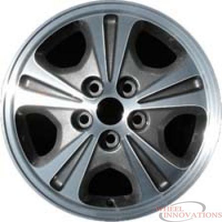 ALY65768 Mitsubishi Galant Wheel Charcoal Machined