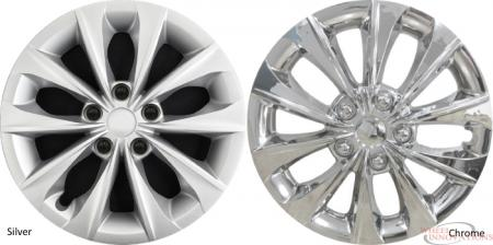 Inch Aftermarket Hubcaps/Wheel Covers Set