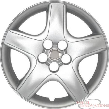 Aftermarket Silver Toyota Matrix Hubcaps/Wheel Covers Set