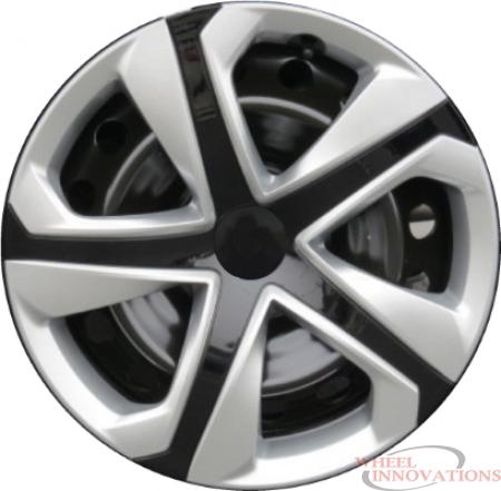 16 Inch Aftermarket Silver/Black Hubcaps/Wheel Covers Set