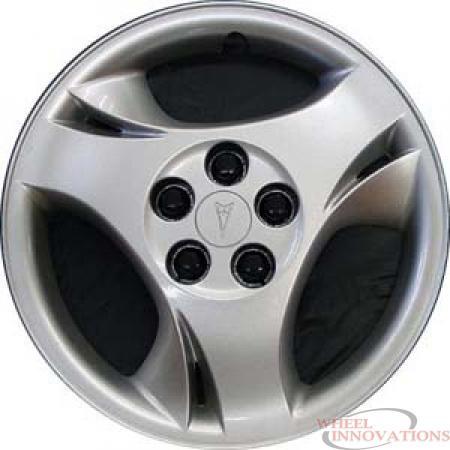 H5131B Pontiac Sunfire Silver Hubcap 15 Inch  - WC000999